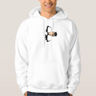 Nose and Mustache Hoodie
