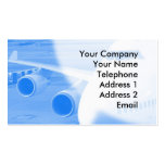 Nose and Wind of an Aircraft Business Card Template
