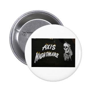 "Nose Art ""AXIS NIGHTMARE"" Bomber Button"