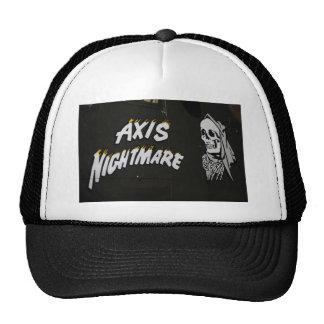 """Nose Art """"AXIS NIGHTMARE"""" Bomber Trucker Hat"""