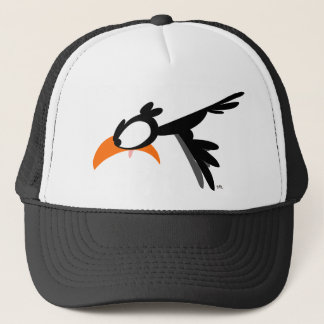 Nose-diving lil' birdie :) trucker hat