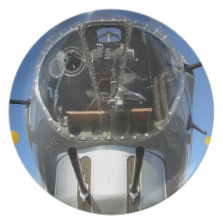 Nose Gunner B-17 Bomber Collectors Plate