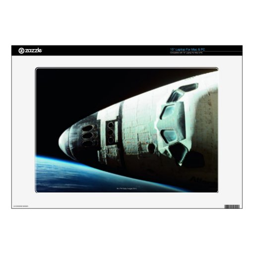"""Nose of a Space Shuttle 15"""" Laptop Decals"""