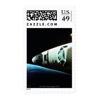 Nose of a Space Shuttle Stamp