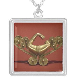 Nose Ornament, Tairona Culture Square Pendant Necklace