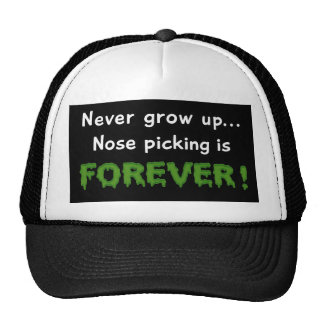 Nose Picking Forever Mesh Hat