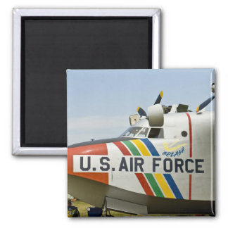 Nose section Air Force Grumman HU-16B 2 Inch Square Magnet