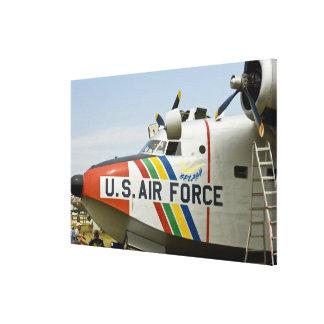 Nose section Air Force Grumman HU-16B Canvas Print