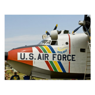 Nose section Air Force Grumman HU-16B Postcard
