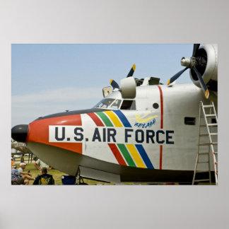 Nose section Air Force Grumman HU-16B Poster