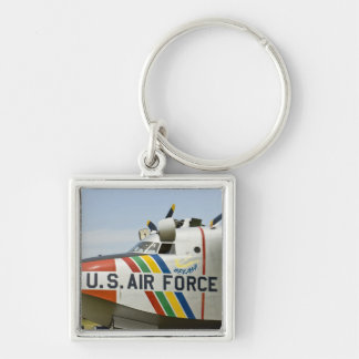 Nose section Air Force Grumman HU-16B Silver-Colored Square Keychain