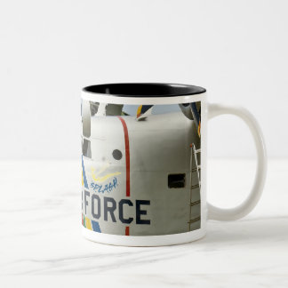 Nose section Air Force Grumman HU-16B Two-Tone Coffee Mug