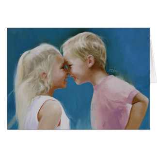 Nose To Nose Greeting Cards