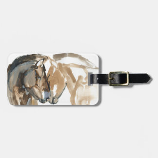 Nose to Nose Luggage Tag