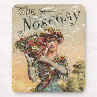 Nosegay - 1900 - distressed mouse pad