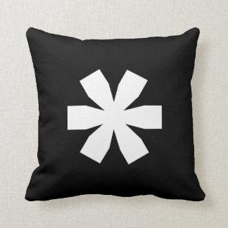 Nosetouch Press Asterisk Pillow