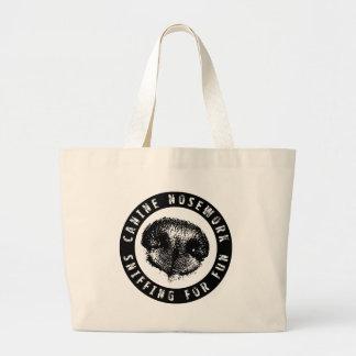 Nosework canino, oliendo para la diversión bolsa