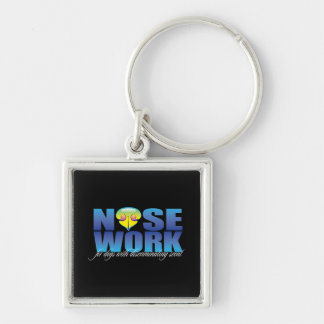 Nosework For Dogs with Discriminating Scent Keychain