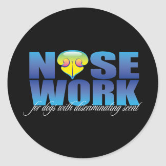 Nosework For Dogs with Discriminating Scent Sticker