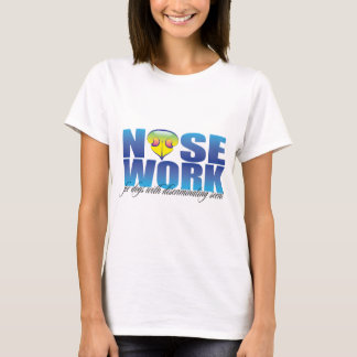 Nosework For Dogs with Discriminating Scent T-Shirt