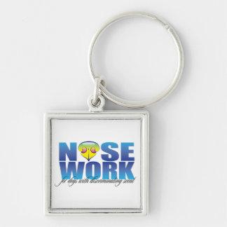 Nosework para los perros con olor discriminatorio llavero
