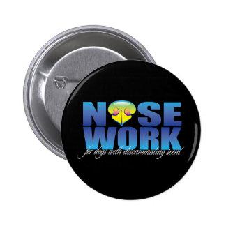 Nosework para los perros con olor discriminatorio pin