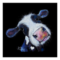 NoSeY CoW ' BeRTHa BeeTRooT ' BY SHiRLeY MacARTHuR Poster