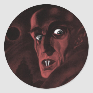 Nosferatu! Classic Round Sticker