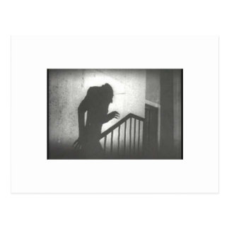 Nosferatu Crawling the Stairs Postcard