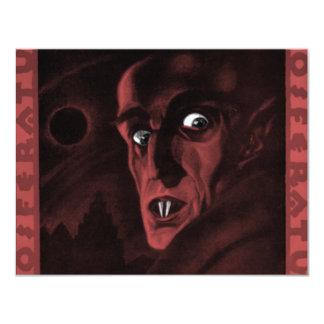 """Nosferatu! 4.25"""" X 5.5"""" Invitation Card"""