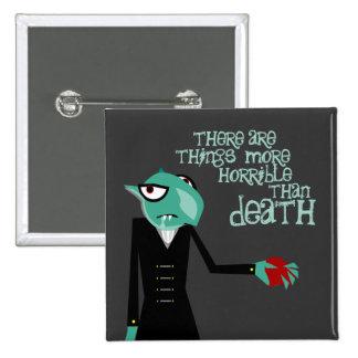 Nosferatu le invita botón cuadrado pin cuadrado