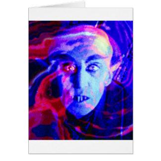 Nosferatu maravilloso tarjeta de felicitación