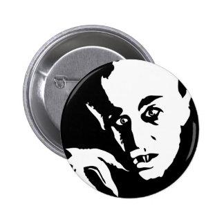 Nosferatu Pin Redondo De 2 Pulgadas