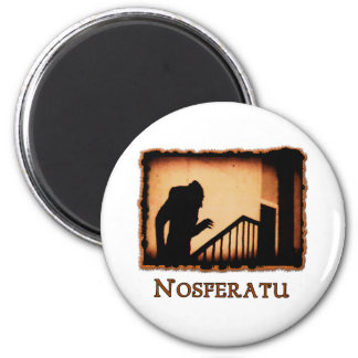 Nosferatu Scary Vampire Products 2 Inch Round Magnet