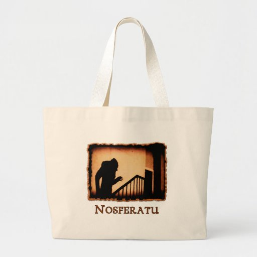 Nosferatu Scary Vampire Products Jumbo Tote Bag