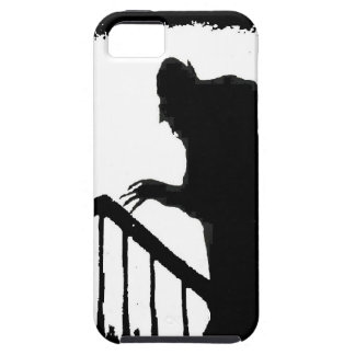Nosferatu-shadow on the stairs iPhone 5 cover