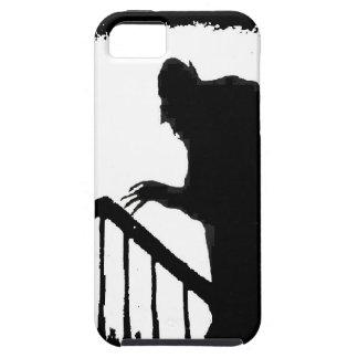 Nosferatu-sombra en las escaleras iPhone 5 carcasas