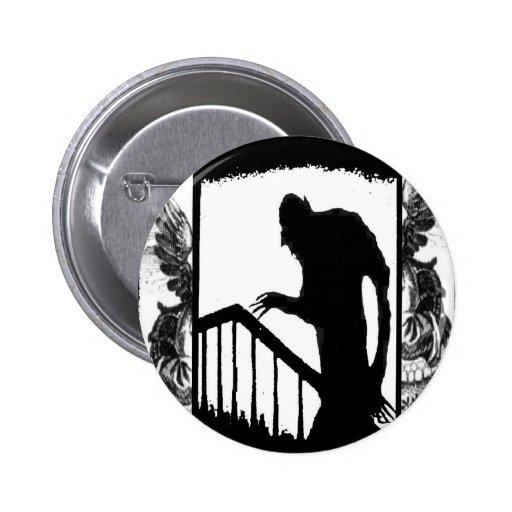 Nosferatu-sombra en las escaleras pin