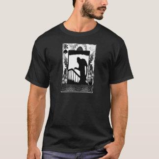 Nosferatu-sombra en las escaleras playera