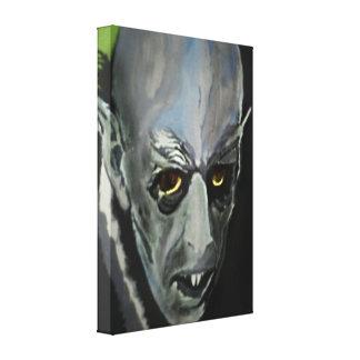 'Nosferatu' Stretched Canvas Print