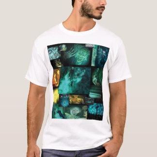 Nosferatu The Untold Origin Ladies Collage T-Shirt