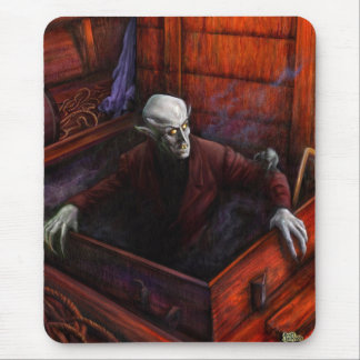 Nosferatu Vampire King Mouse Pads