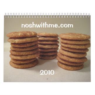 Nosh conmigo calendario 2010