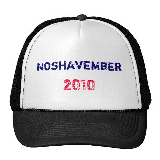 Noshavember , 2010 mesh hats