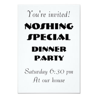 NOSHING SPECIAL Party Invite - Customizable