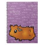 Nosiy Guinea Pig (scruffy) Note Books