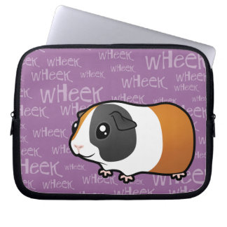 Nosiy Guinea Pig (smooth hair) Laptop Computer Sleeves