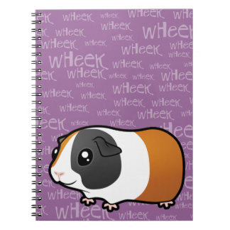 Nosiy Guinea Pig (smooth hair) Notebooks