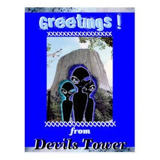 """""""NOSOTROS 3"""" en la torre de los diablos Postal"""