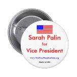 nosotros-bandera, Sarah Palin, para, vice banda… - Pin